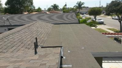 residential roof install sandkamp roofing